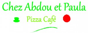 Pizza café logo