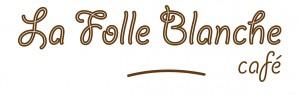 la folle Blanche café- logo