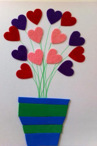 bouquet de coeurs papa 1