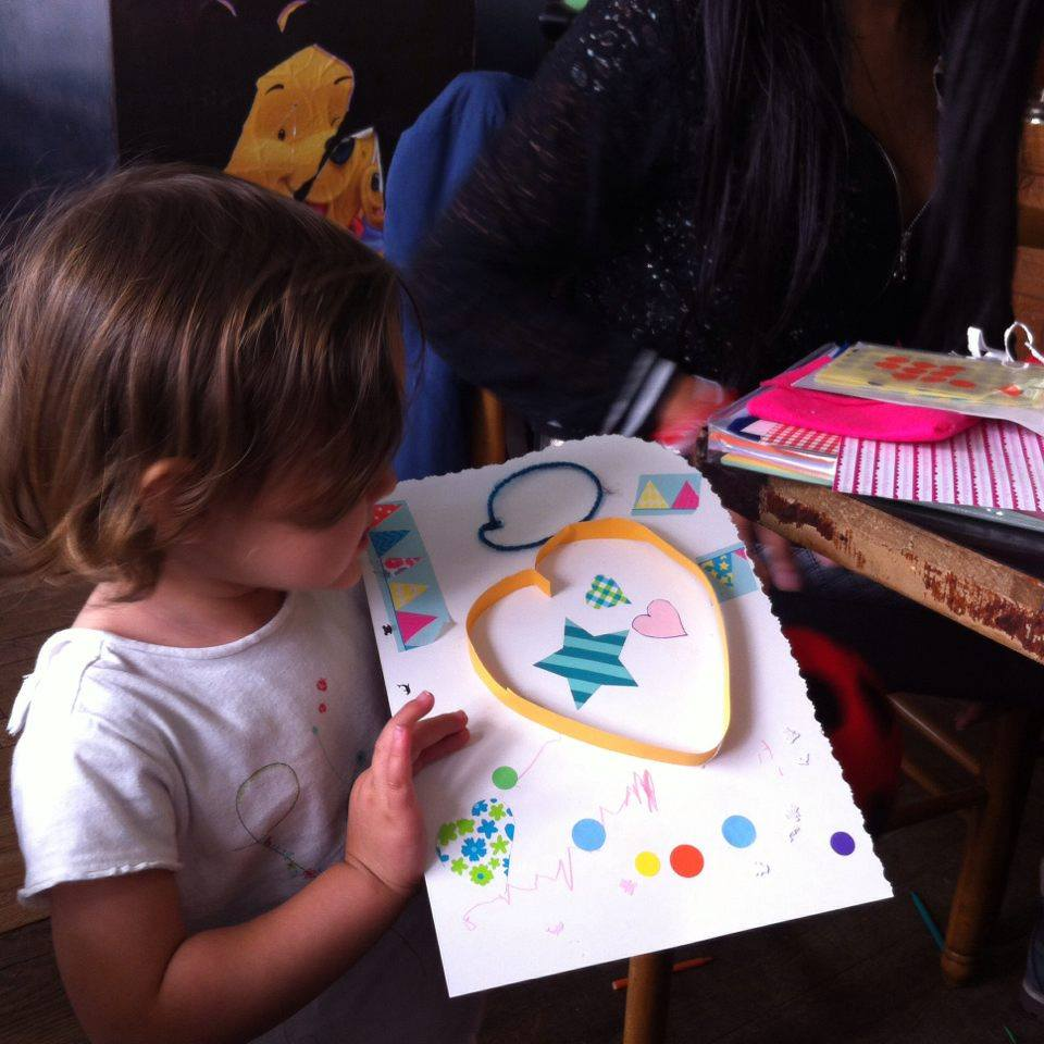 atelier créatif dinette corner fête des pères Grosse Mignonne Montreuil