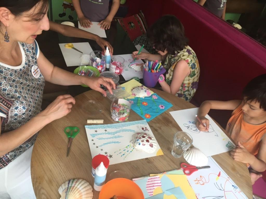 atelier créatif enfant parent montreuil