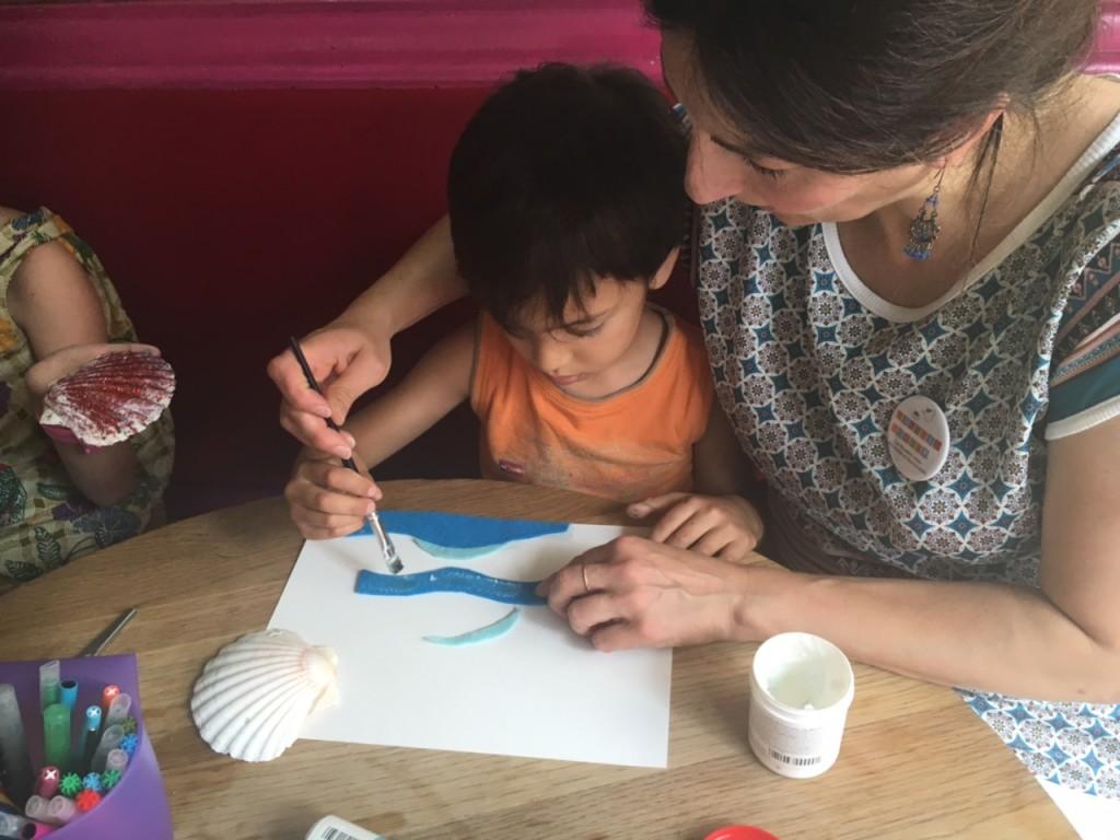 atelier créatif parent enfant montreuil